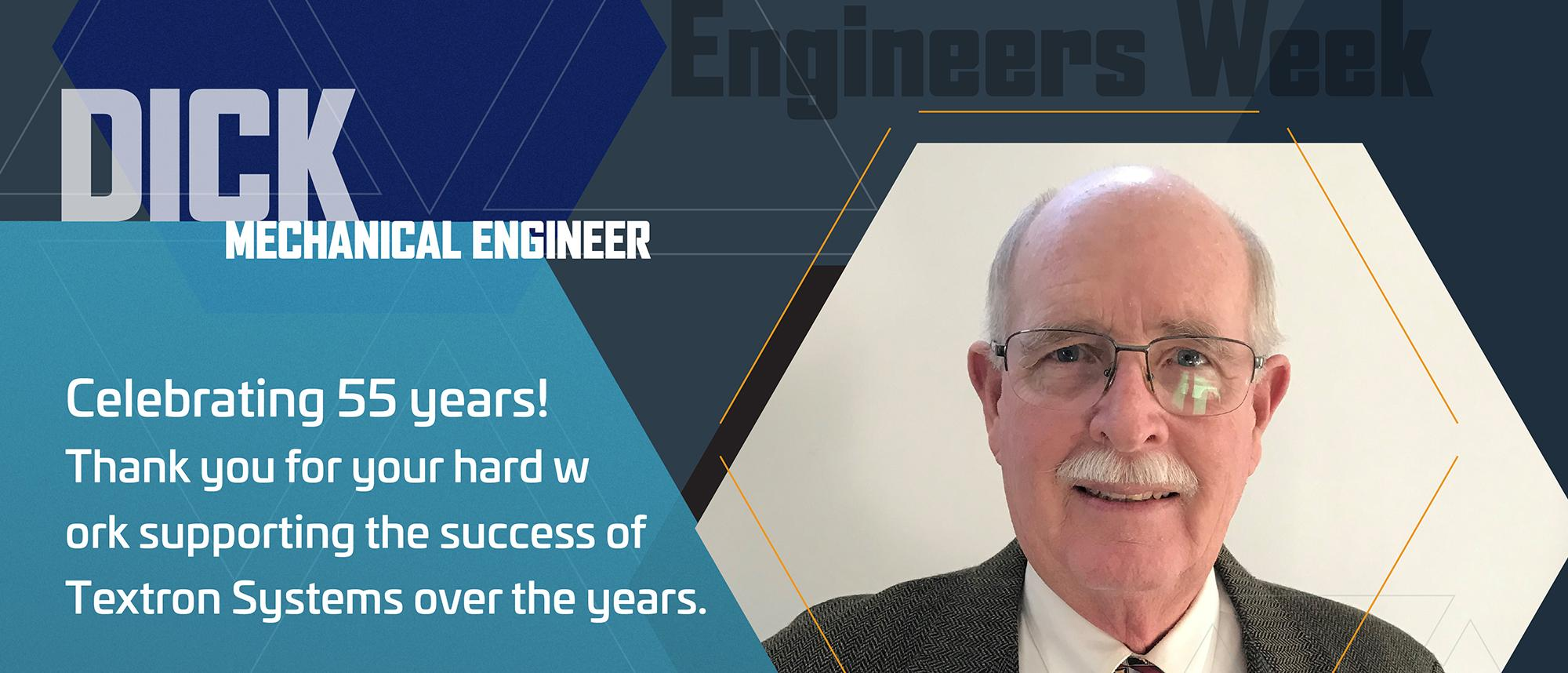 Meet Dick Q. - Mechanical Engineer