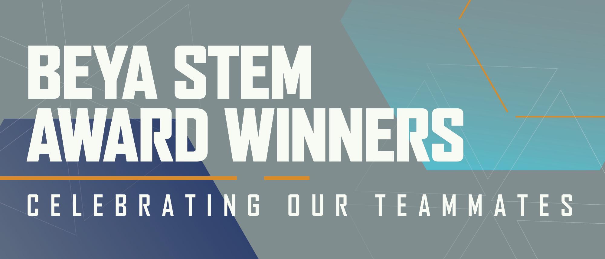 BEYA STEM AWARD WINNERS