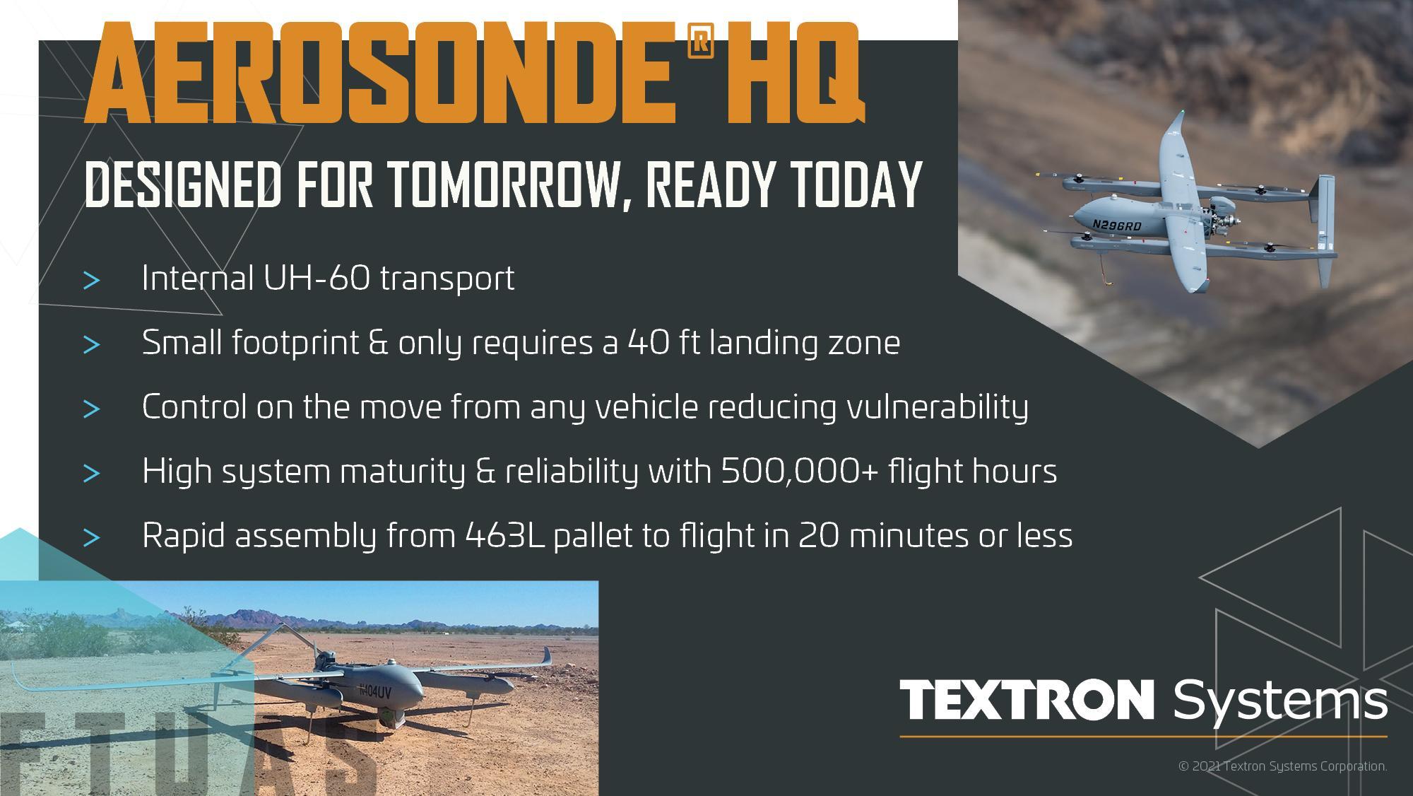 Aerosonde Infographic