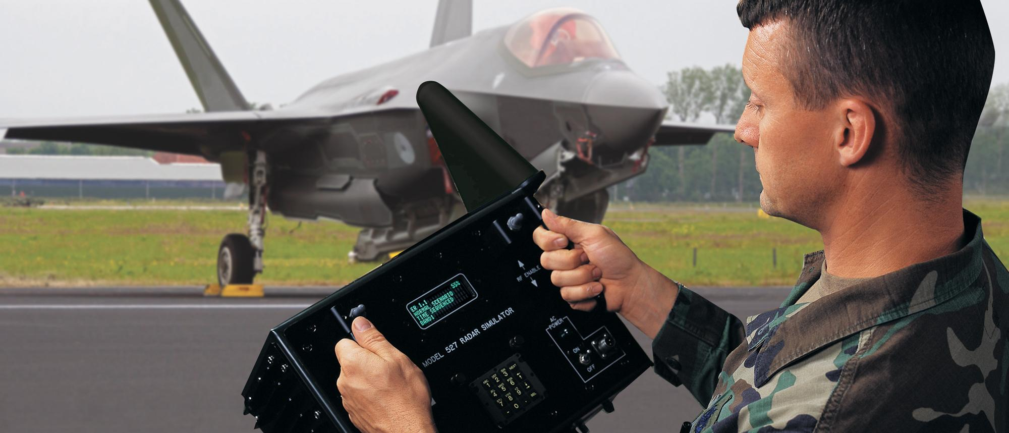 Model 527 being use by a soldier