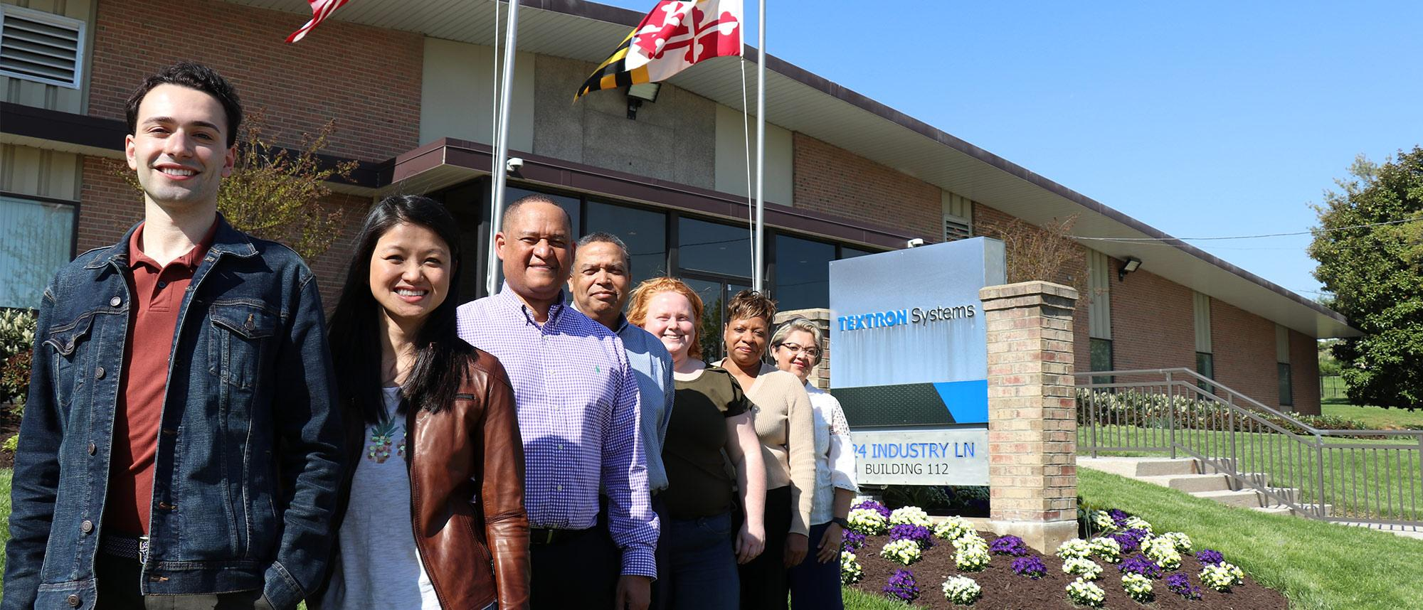 A picture of Textron Systems employees involved in diversity & inclusion initiatives
