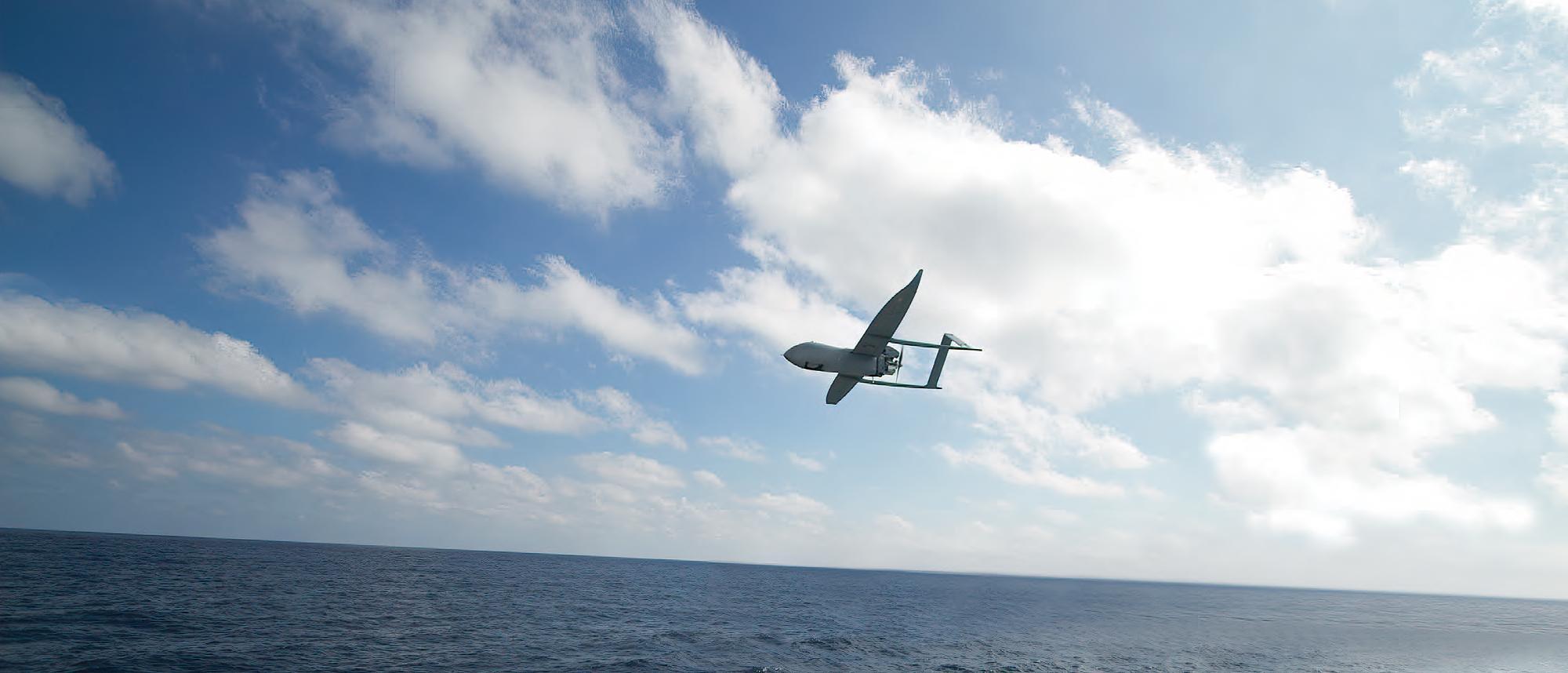 Aerosonde Flying