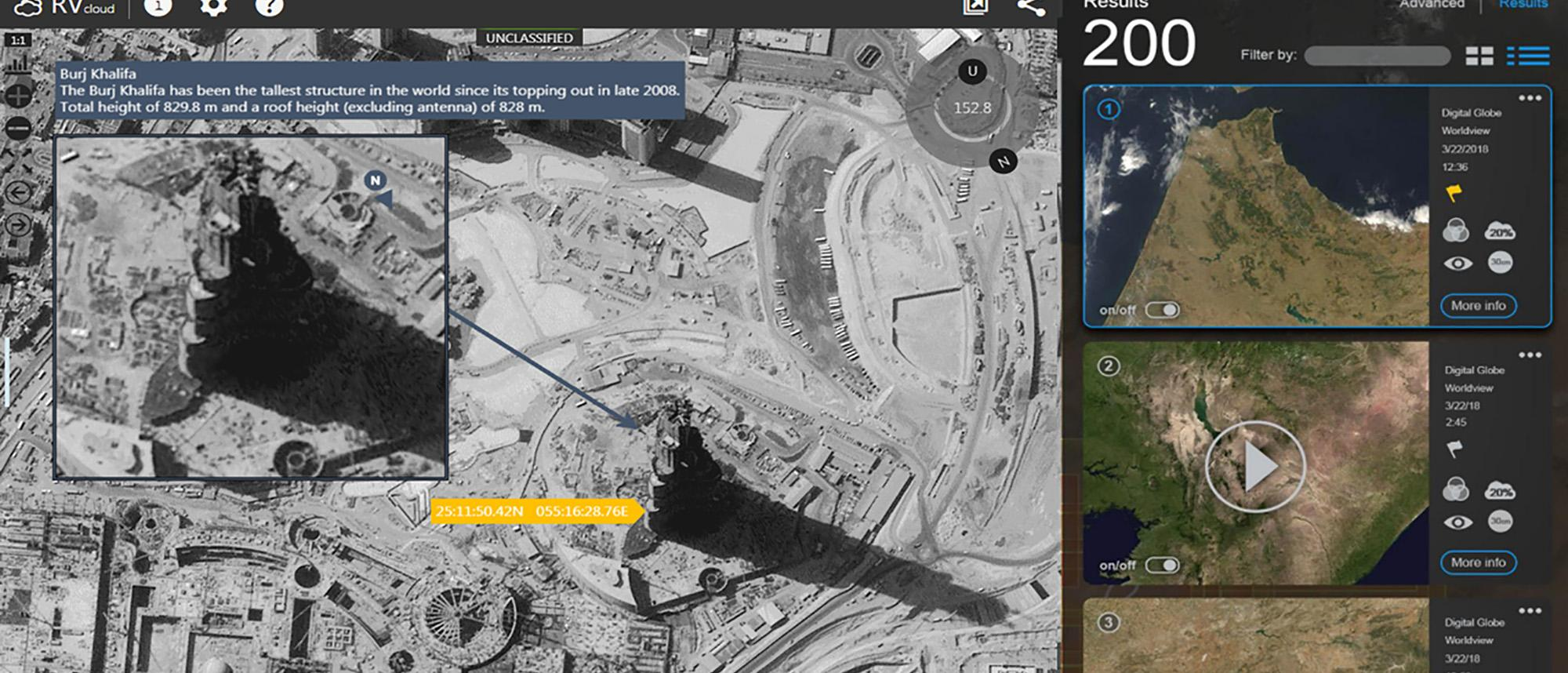 SeeGEO Image Exploitation, Real-time web-based geospatial analysis