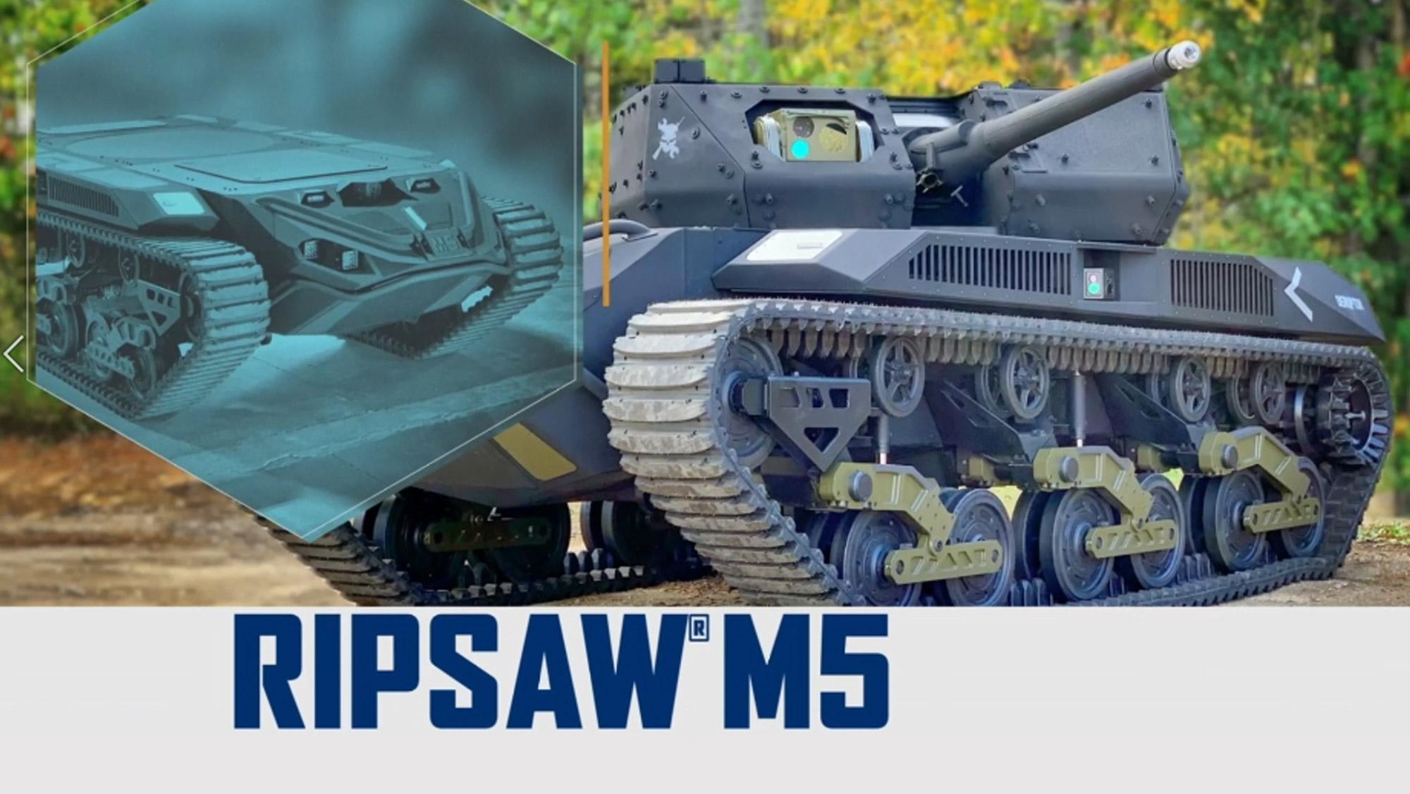 Ripsaw M5 AUSA 2021