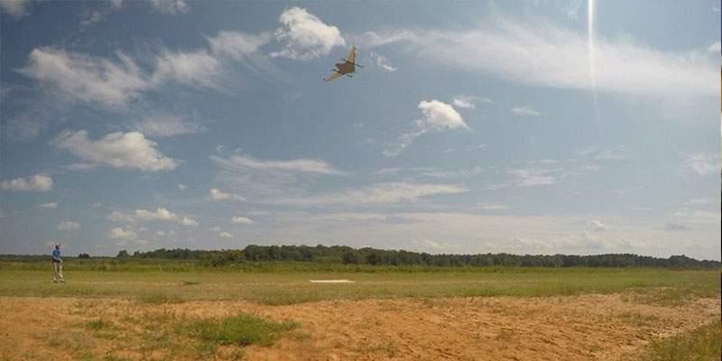 UAV hovering