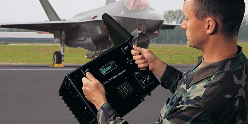 model 527 in operation