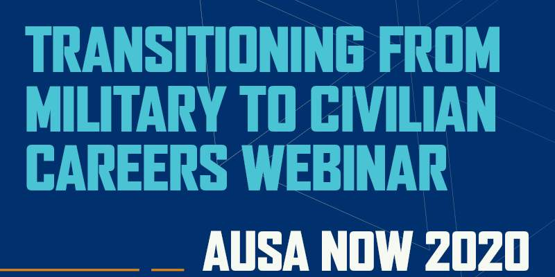 Transitioning from Military to Civilian Careers Webinar