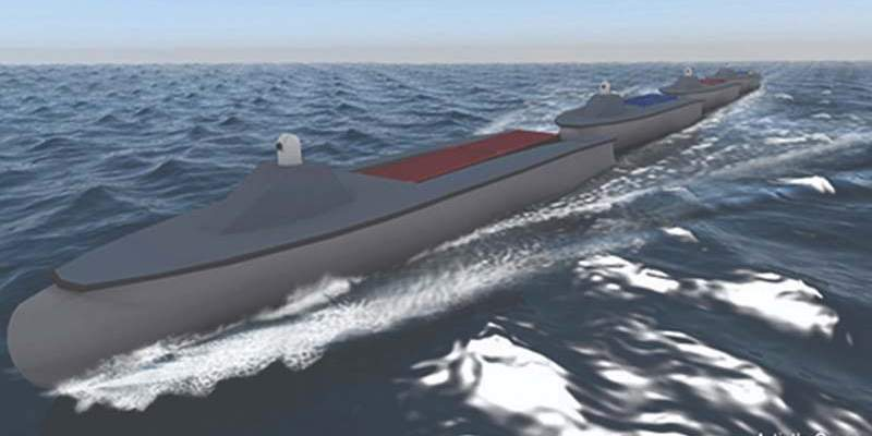 DARPA's Sea Train to Make Waves with Textron Systems Autonomy Engine at the Helm